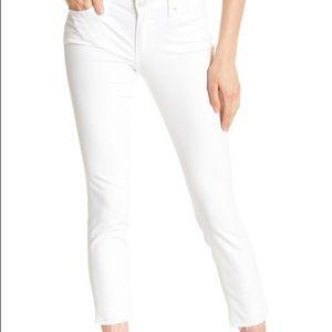 Lucky Brand Jeans - L U C K Y  B R A N D   Lolita White Crop  Jeans